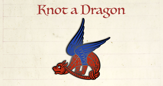 Knot a Dragon mock-up
