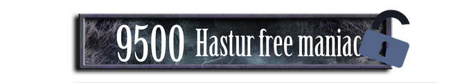 """A """"Maniac"""" miniature will be added for free to the Hastur Faction box and another one to the Collector's box."""