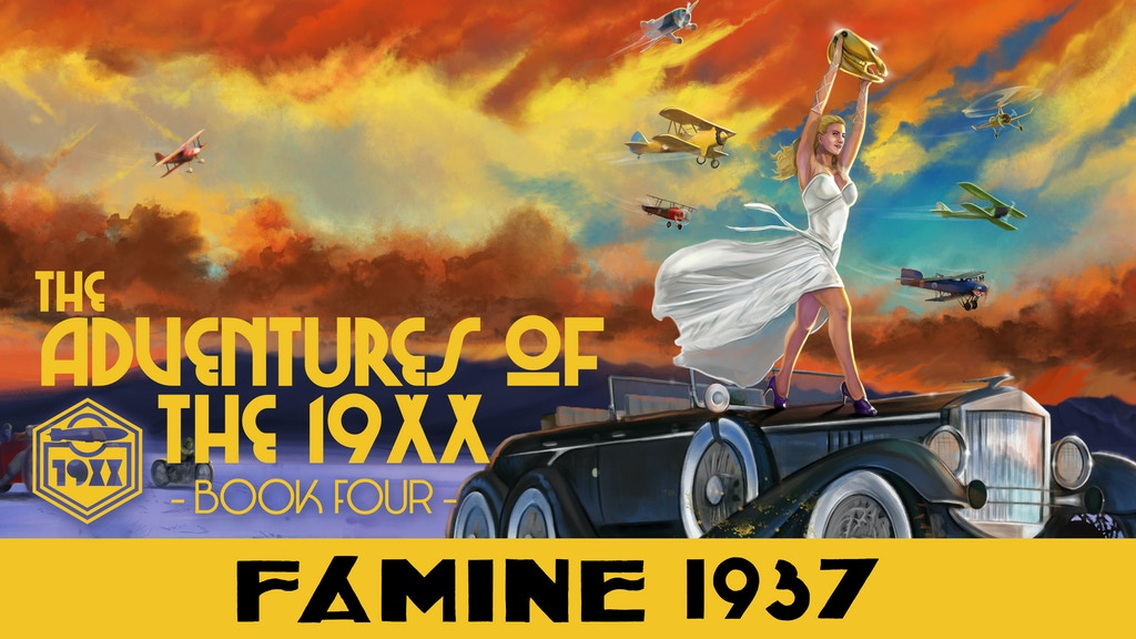 Adventures of the 19XX Book Four Graphic Novel, Famine 1937