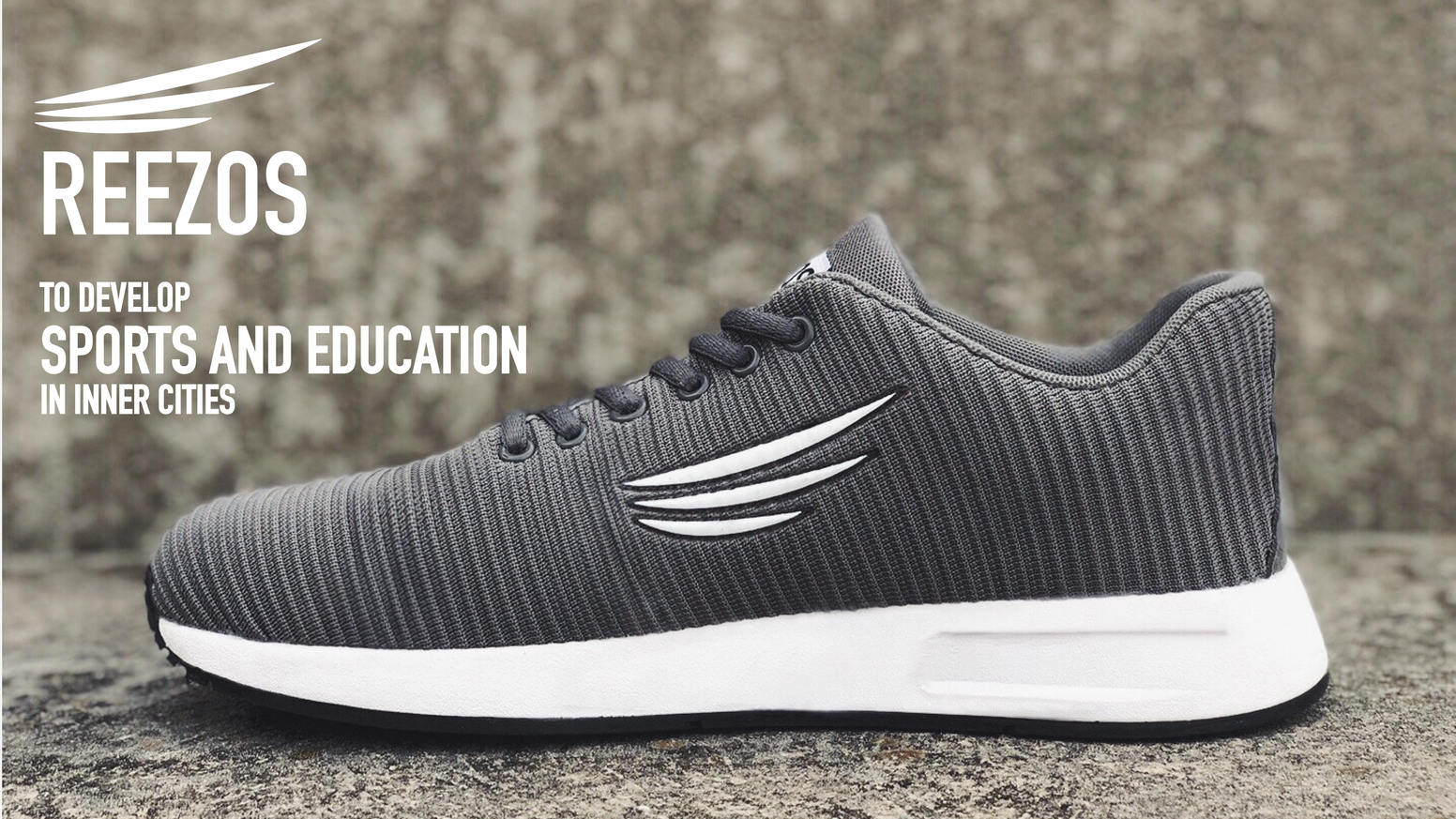 Introducing Reezos - a shoe brand committed to developing sports and education for inner city youth
