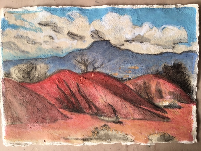 Print 2: Mesa Pedernal