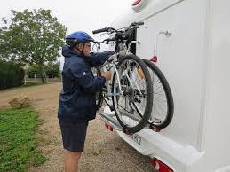 No need to hang heavy bikes on your RV and expose them to theft or damage. JackRabbit's 20 lb. foldable frame easily stows inside. No greasy chain or gears to soil your interior!
