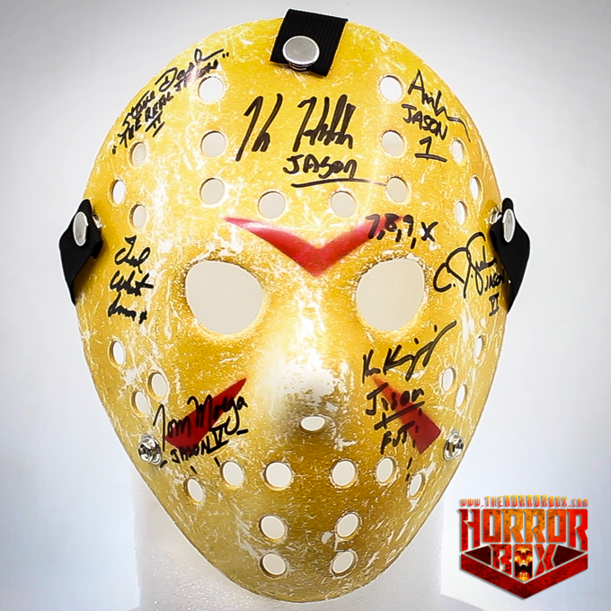 Jason Mask - Signed by all of them!