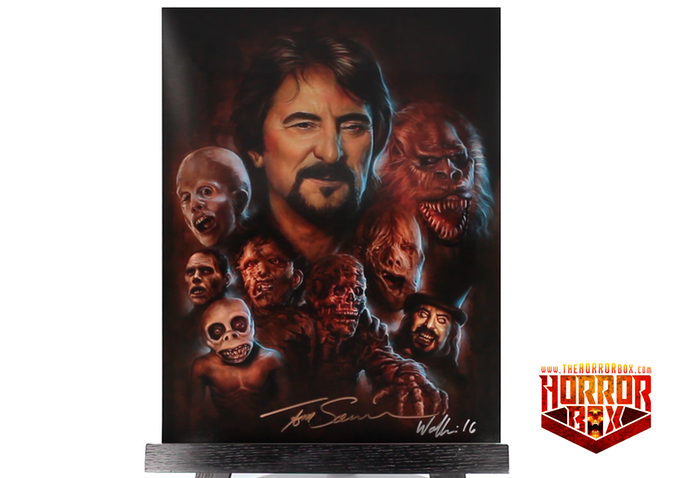 """Smoke And Mirrors: The Story Of Tom Savini"" Print - Autographed by Terry Wolfinger and Tom Savini"