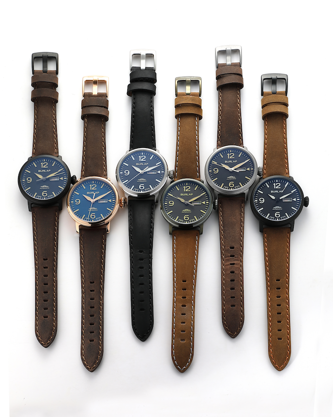 Working prototypes of our Burlap Propeller Automatic collection