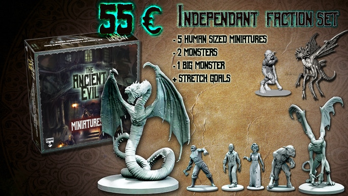 The Independant monsters box set complete!