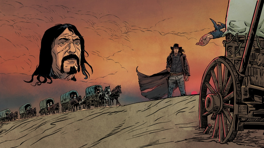 Hard Country - A WesterNoir Tale. project video thumbnail