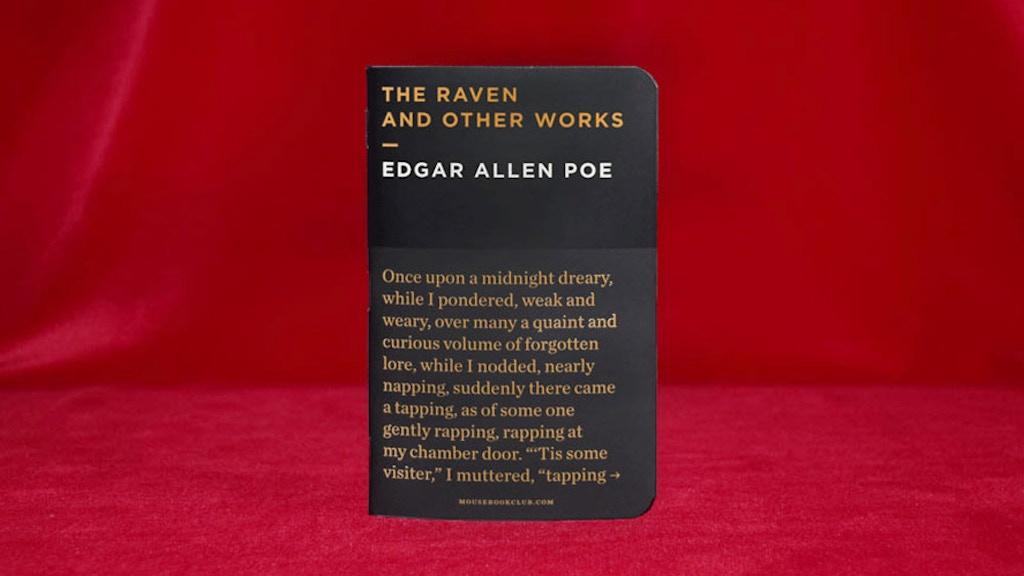 MOUSE BOOKS CELEBRATES POE project video thumbnail