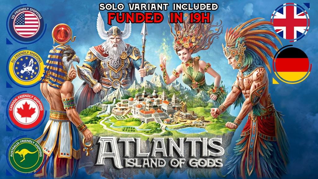 ATLANTIS: Island of Gods project video thumbnail