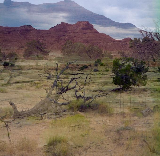 """""""Crossing #1"""", Somewhere in Utah, ©1997 Deanna Miesch"""