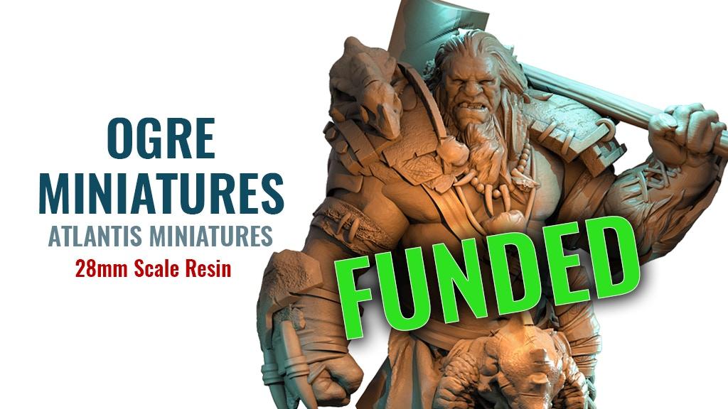 Atlantis Miniatures : Ogres