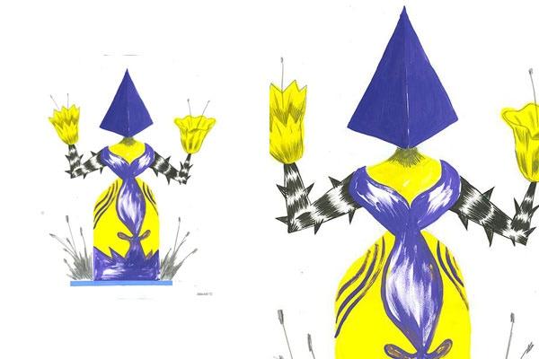 $12,000 MXN - 1 ilustración del artista Charles Glaubitz