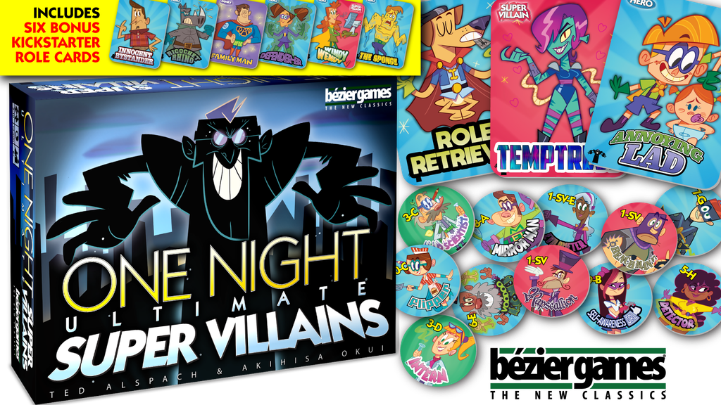 One Night Ultimate Super Villains project video thumbnail