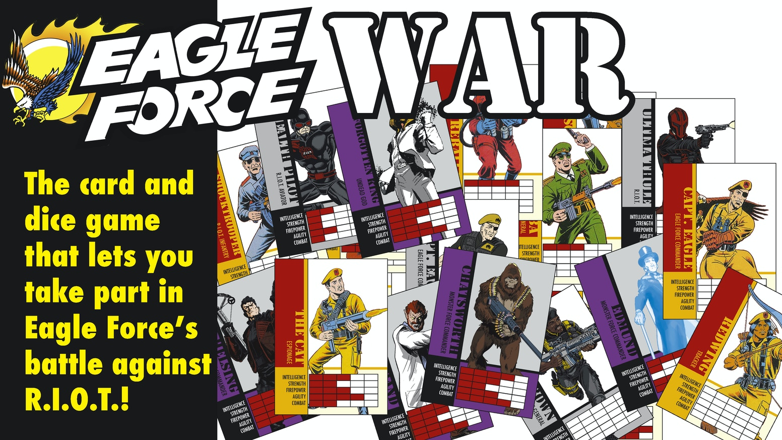 eagle force war card and dice game - Irving Rewards Card
