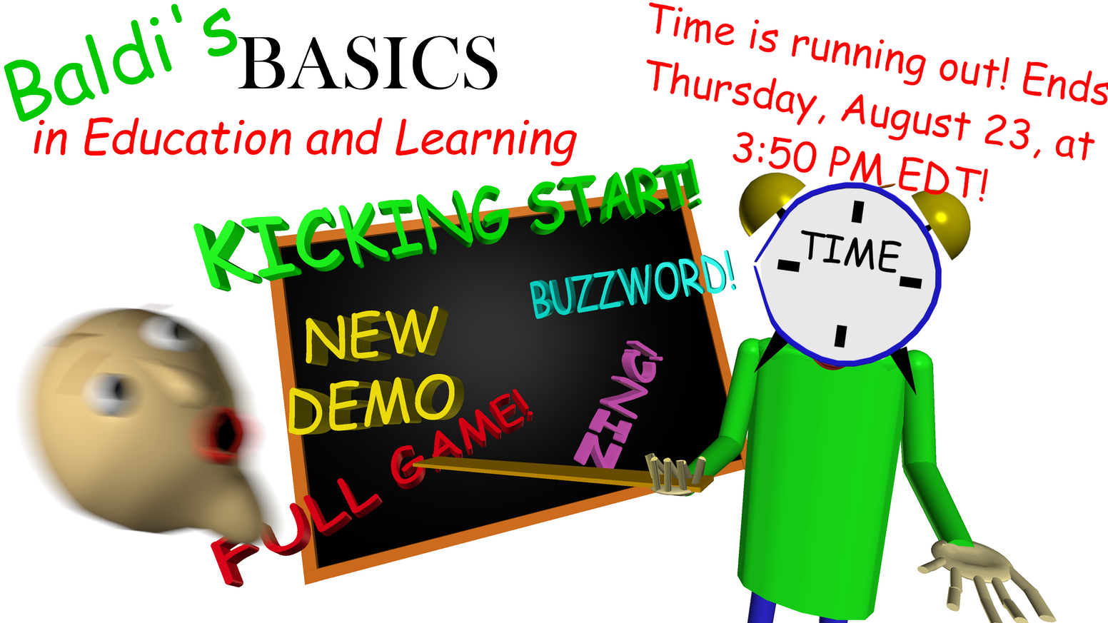 Baldi's Basics in Education and Learning - Full game! by Micah