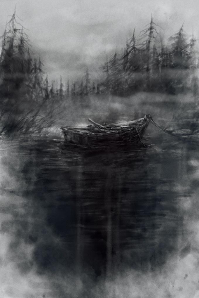 """""""The Anchor"""" (art by David Romero)"""
