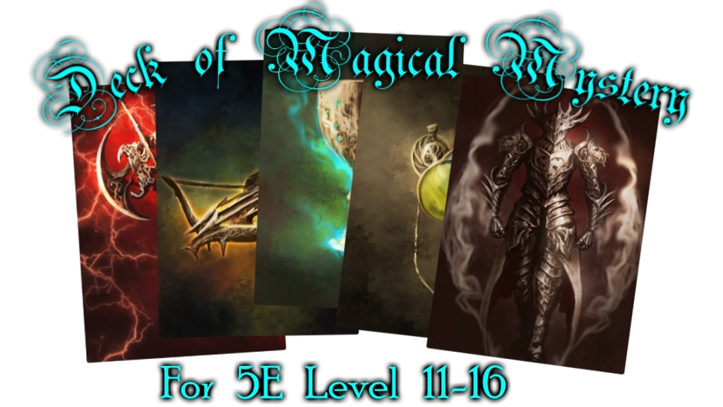 Deck of Magical Mystery: Tier 3, 5e Compatible project video thumbnail