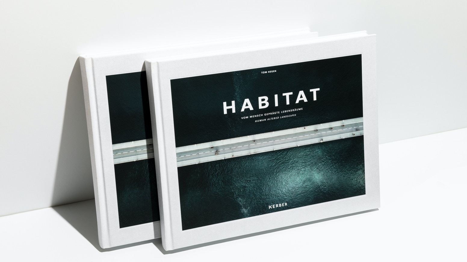 A photobook about human impact on earth documented by aerial photography.