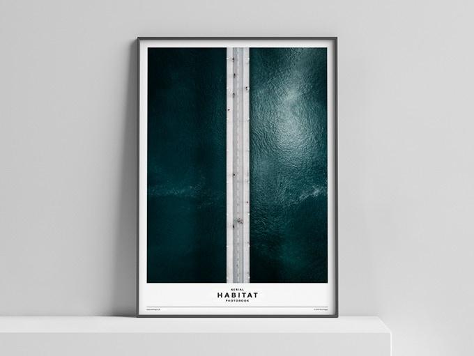 Limited Edition Poster »HABITAT« (Scene A: Bridge) 50x70 cm, 50 Euro