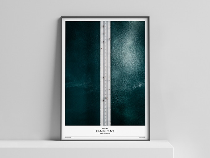 Limited Edition Poster »HABITAT« (Scene A: Bridge) 50x70 cm, 50 Euro