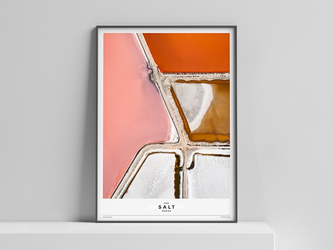 Limited Edition Poster »The Salt Series« 50x70 cm, 50 Euro