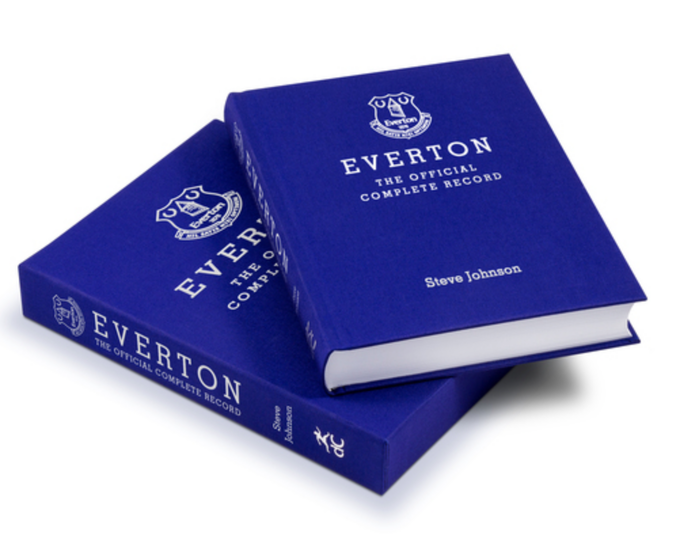 We published this beautiful Special Limited Edition version of Everton: The Official Complete Record in 2016