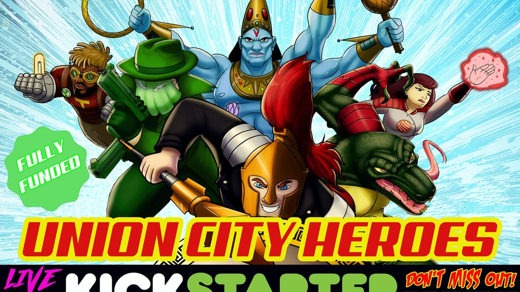 Union City Heroes: A Comic Book RPG and Setting Core Book project video thumbnail