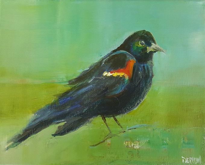 "Original Painting 8""x10"" Acrylic on Canvas"