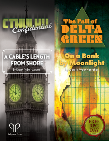 A double adventure including one for The Fall of Delta Green