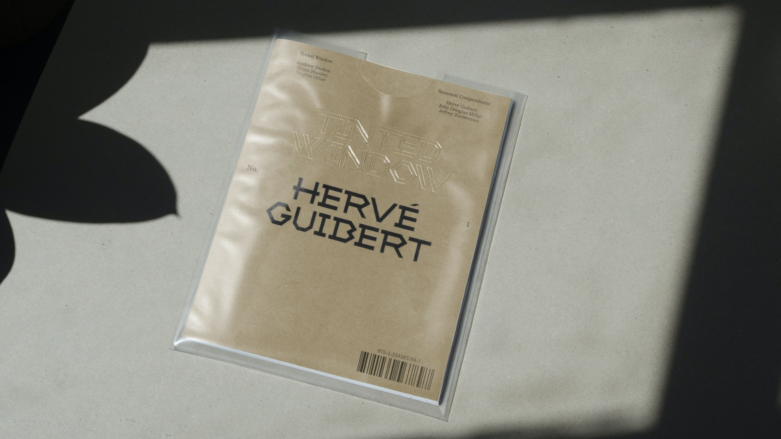 A journal focusing on one undervalued subject or figure in great depth. No.1 concentrates on the artist and writer Hervé Guibert.