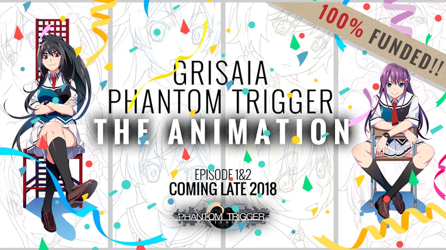 Be A Part Of The Grisaia: Phantom Trigger Anime Launch! by