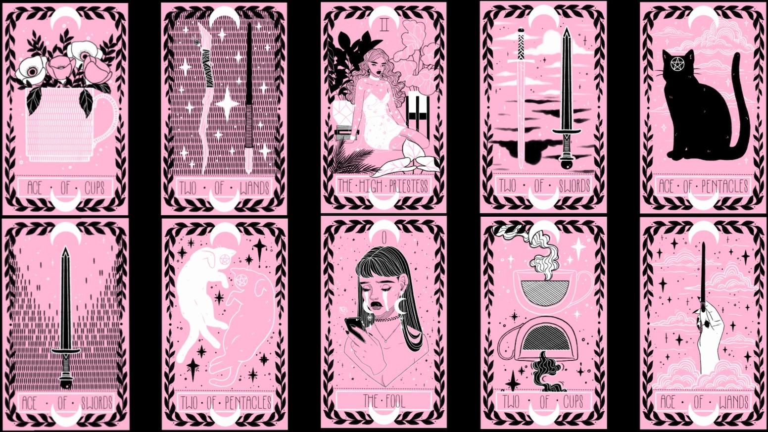 The Lovely Omens Tarot Deck by Keely Parks — Kickstarter