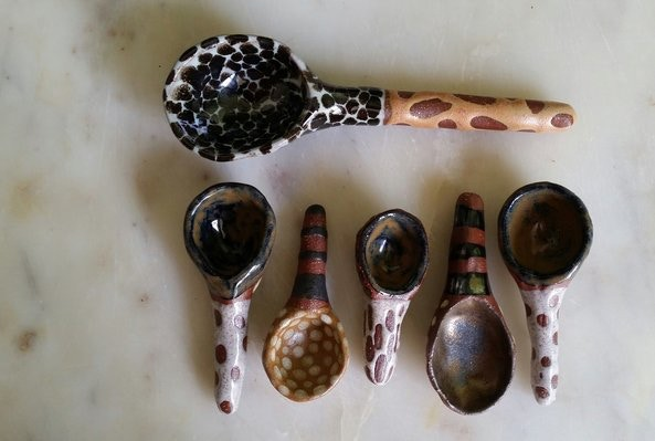 grouping of sugar spoons - $15 reward