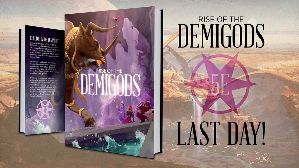 Rise of the Demigods project video thumbnail
