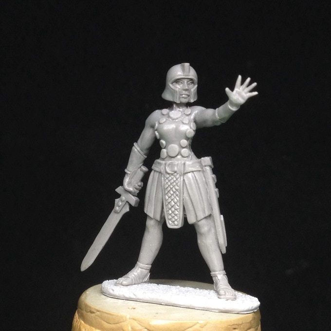 Guard Captain, sculpted by Patrick Keith