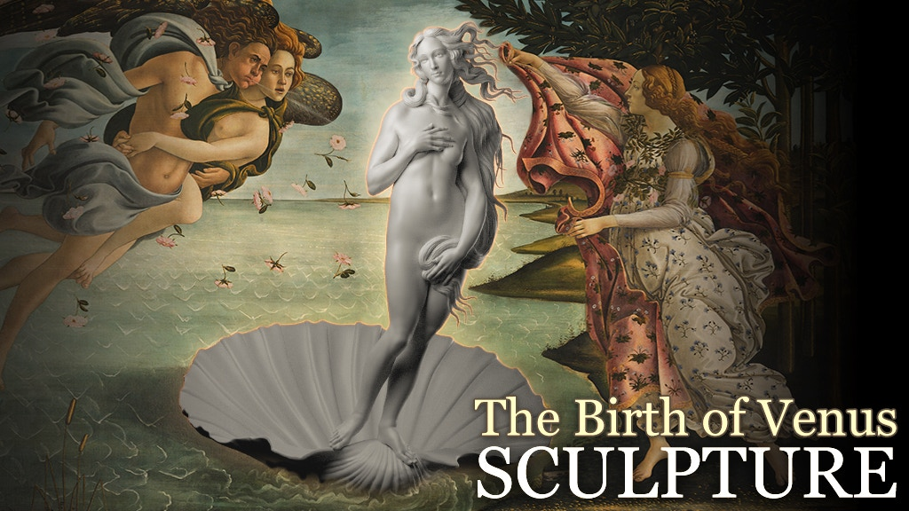 The Birth Of Venus Sculpture project video thumbnail