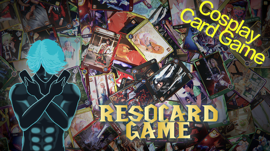RESOCARD Game: a fast and fun cosplay trading card game