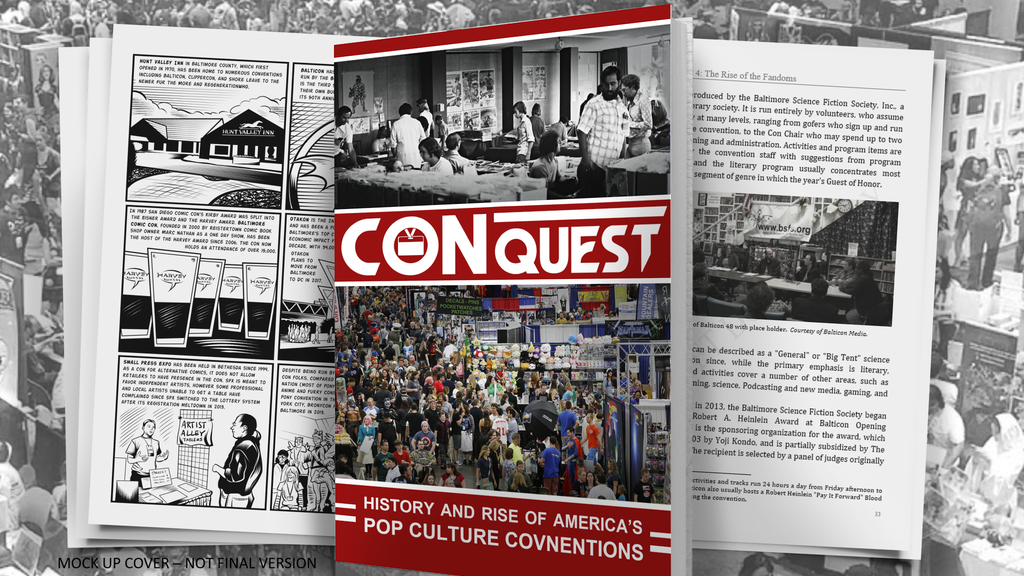 Project image for CONquest - History Book on America's Pop Culture Conventions