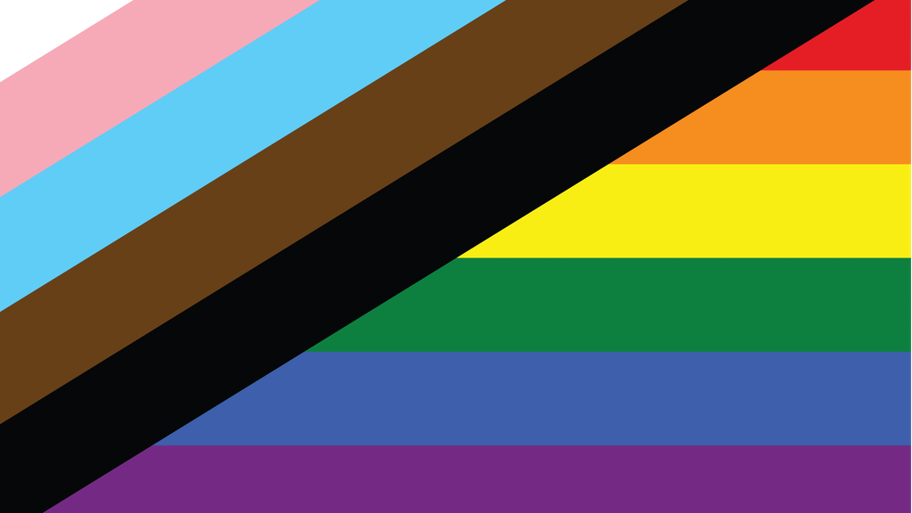 Project image for NEW PRIDE FLAG - Support Trans & Queer People of Color!