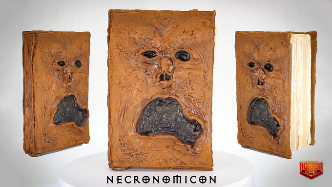 "NECRONOMICON - ""Book of the Dead"" - Handmade Latex Replica"