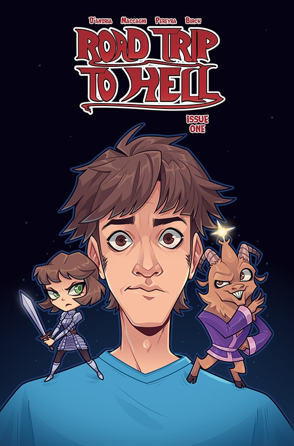Road Trip to Hell #1 Zoe Stanley's Chibi Variant