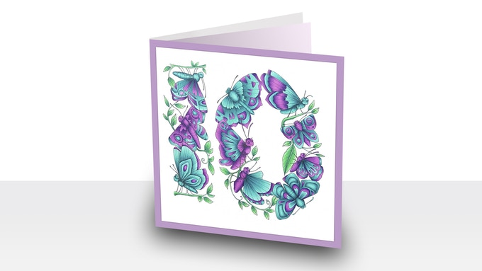 Make birthday cards and gifts for loved ones.