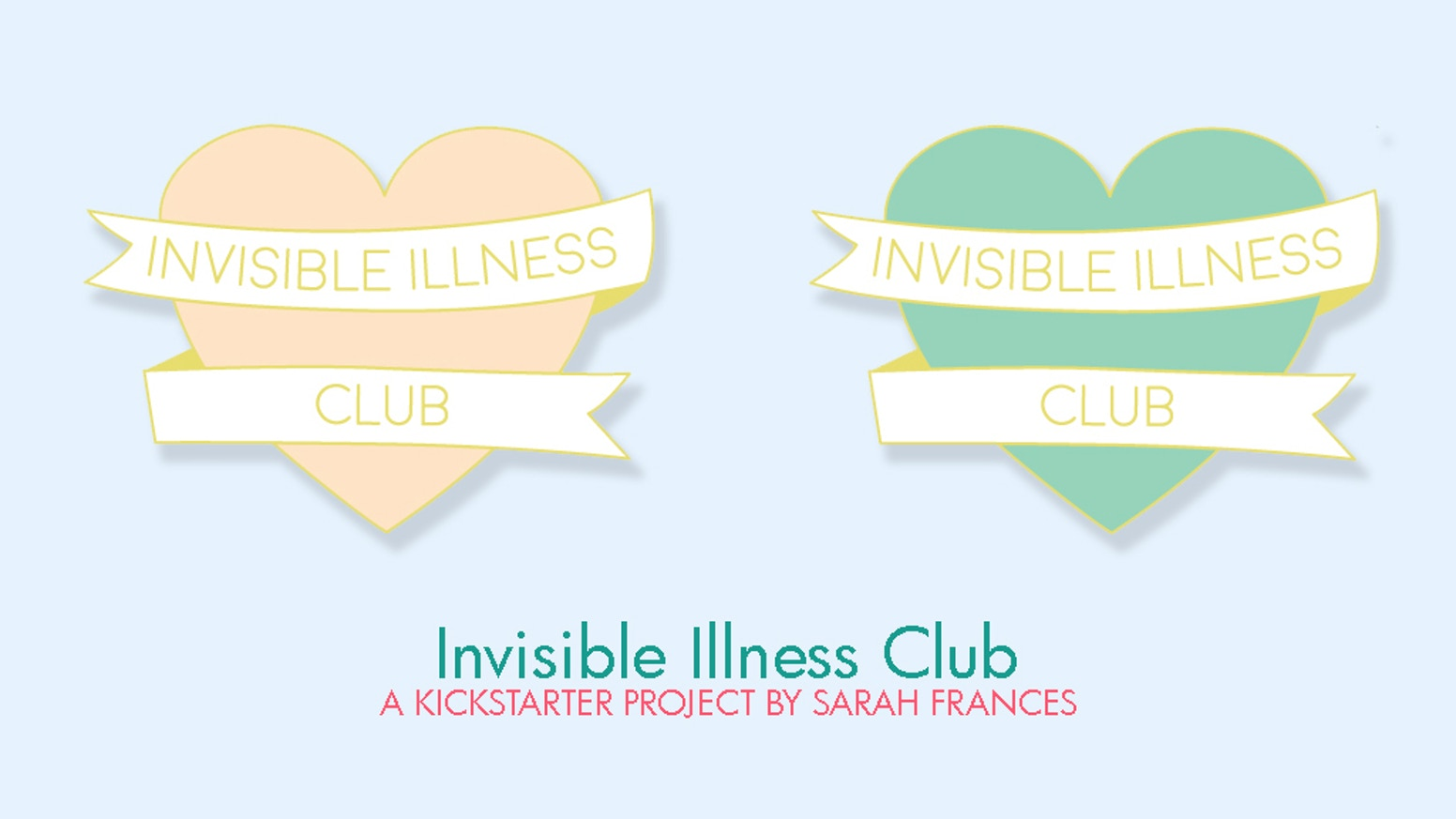 An Enamel Pin designed for all those suffering from an invisible illness.