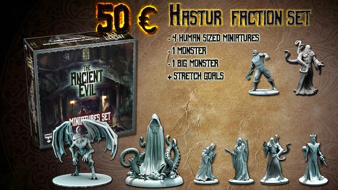 The Hastur faction box set complete