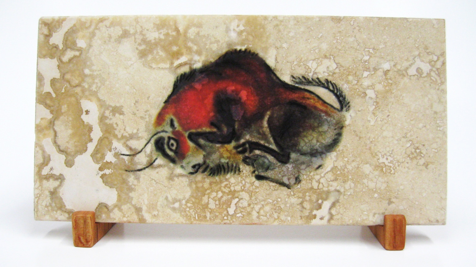 First Artists Cave Paintings On Stone Tiles By The Arts Coop Kickstarter