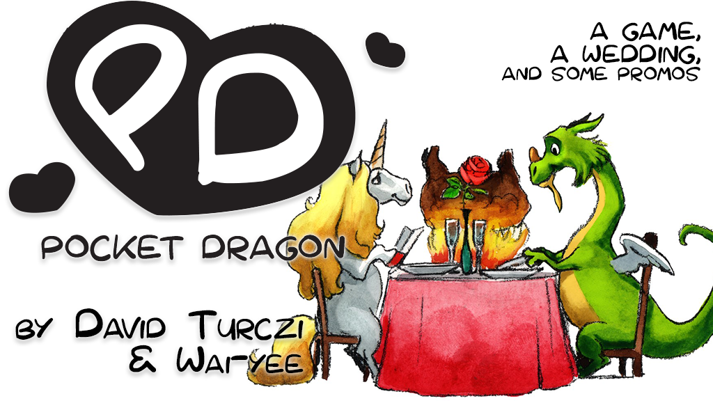 Pocket Dragon - a game and a wedding project video thumbnail