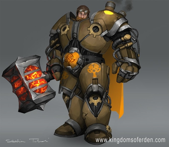 Dwarven Steam Smith