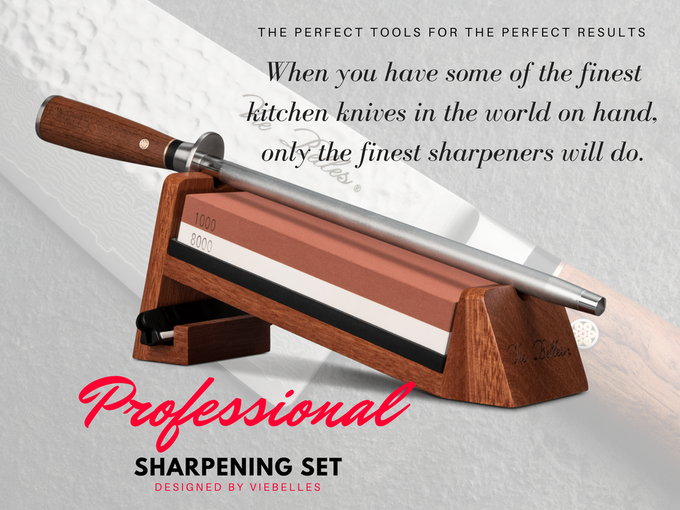 Professional Knife Sharpening System for Everyone! by Vie
