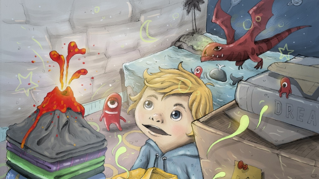 Henry Winterbottom and the Feeling Rainbow Children's Book project video thumbnail