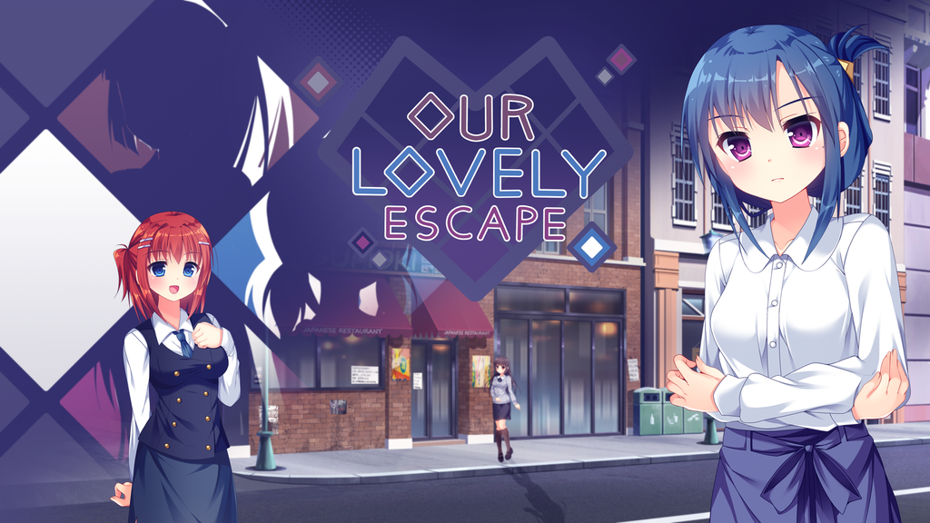 Our Lovely Escape - Bishoujo Visual Novel project video thumbnail